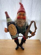 Vintage Rare Guinness Beer Stout Leprechaun Gnome 20� 1950's