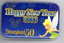 Disney 50th Disneyland Happy New Year 2006 Tinker Bell Cast Costume Button