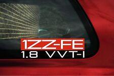 """"""" 1zz-fe 1.8 VVTi' 1 ZZFE Adesivo per TOYOTA CELICA GT/CALDINA/Avensis (2003+)"""