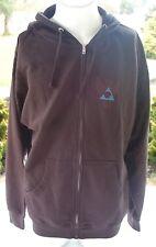 2011 USED ASHBURY PREMIUM EYEWEAR HOODIE L $60 Black sweatshirt goggles t-shirt