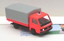 Fw007: MB 100 D Pick-up/bâche pompiers RAL 3024