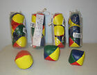 15 MULTI-COLORED JUGGLING BALLS WITH INSTRUCTIONS KIDS BEGGINER JUGGLE BALL KIT