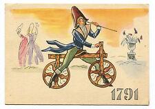 LA STORIA DELLA BICICLETTA, 1^ SERIE I PIONIERI, DE SIVRAC 1791, BY PIRELLI    m