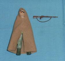 vintage Star Wars PRUNE FACE action figure with original cape + gun weapon