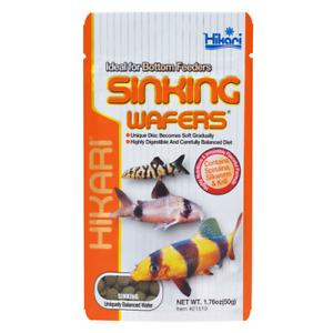 Hikari Sinking Wafers 110g Tropical Catfish Loaches Sinking Wafer Disc Food