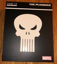 NIB Mezco One:12 Collective PUNISHER Frank Castle Action Figure RARE HTF 1/12