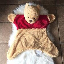 Winnie The Pooh Plush Playtime Soft Security Blanket Rug Throw Nursery 2012 Rare