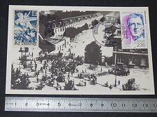 CPA CARTE POSTALE 1er JOUR PHILATELIE 1994 LIBERATION PARIS 1944 ECOLE MILITAIRE