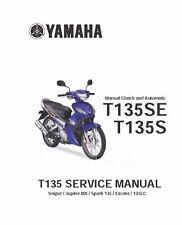 Yamaha owners service manual 2006 T135, T135SE & T135S Sniper & Jupiter MX