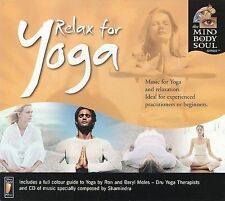 FREE US SHIP. on ANY 2 CDs! ~Used,VeryGood/Good CD Shamindra: Relax for Yoga