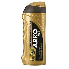 3 x ARKO MEN AFTERSHAVE COLOGNE GOLD POWER 250ML