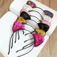 Costume Sequins Head Hoop Cosplay Prop Hair Accessories Cat Ears Headband