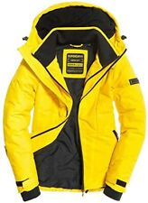 Women's And Ladies Superdry Padded Aeon Jacket Yellow Size 12 RRP £84.99