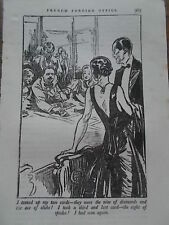 Original 1934 Print / Book Illustration LEO BATES FRENCH FOREIGN OFFICE