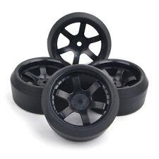 1:10 RC Flat Drift Tire &12mm Hex Wheel Rim For On-Road CarHSP HPI PP0072/370