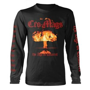 Cro-Mags 'The Age Of Quarrel' Black Long Sleeve T shirt - NEW