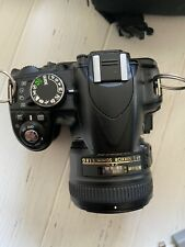 Nikon D3100 Digital Slr Camera with Two Lenses, Extra Battery and Carrying Case