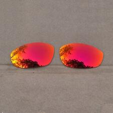 Orange Red Mirrored Replacement Lenses for-Oakley Whisker Sunglasses Polarized