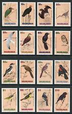 Bahamas SG892/907 1991 Birds set of 16 U/M