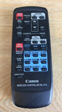 CANON WL-D74 Caméscope Télécommande sans fil Genuine Canon