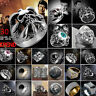 Cool Men Stainless Steel Silver Gothic Punk Charm Biker Finger Ring Jewelry Lot