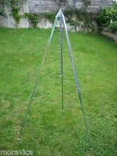 Teleskop Kesselständer,Dreibein,Ständer,Grillgestell,Gulasch,Grillen,170 cm