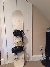 Ride Snowboard and burton bindings
