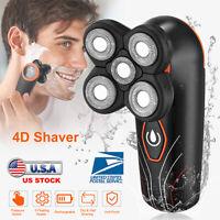 Rechargeable Men 4D Electric Shavers IPX7 Waterproof Beard Trimmer Shaving Razor
