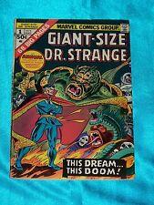 GIANT-SIZE DR. STRANGE # 1, 1975, Art by DAN ADKINS, Fine - Very Fine Condition