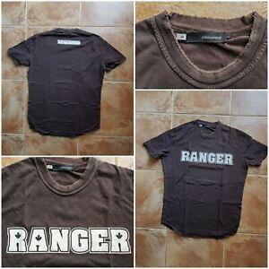 Dsquared distressed Ranger Logo T-shirt Medium