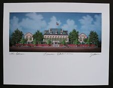 """signed /& titled /""""St Mary/'s Assumption Church/"""" by Jim Blanchard"""
