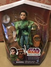 STAR WARS Princess Leia Organa & Wicket The Ewok Forces Of Destiny NIB