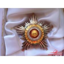 SOVIET MEDAL USSR ORDEN ROMANIA ORDER OF THE STAR OF RSR CLASS III WITH NICE BOX