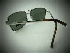 NEW men's TOMMY HILFIGER TH BRODY silver aviator wrap shield flight  sunglasses