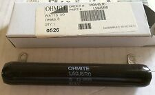 OHMITE Resistor  50W 5 OHM  L50J5R NIB