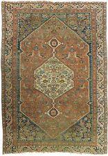 """Antique Persain Bijar rug. 4'7""""x 6'7"""". (55""""x 79"""")"""