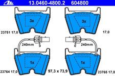 Bremsbelagsatz Scheibenbremse - ATE 13.0460-4800.2