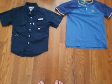 Columbia short sleeve jacket youth xs and Abercrombie and Fitch kids golf size 9