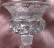 CHRISTOFLE PAIRE DE SALIERES - 11//17 état brillant cristal et métal argenté