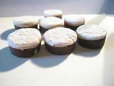 DOLLSHOUSE MINIATURE ICED FRUIT CAKE