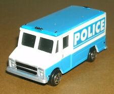 1/64 Scale Chevrolet Walk-In Stepvan Police Van Plastic Emergency Vehicle Toy