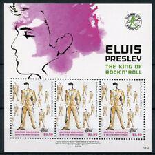 Grenadines of Grenada 2018 MNH Elvis Presley 3v M/S Celebrities Music Stamps