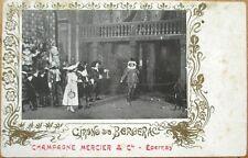 1902 Champagne Mercier Advertising Postcard: 'Cirano de Bergerac'