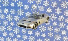 Custom Christmas Ornament 1964 /'64 White Ford Mustang 1//64 Scale Car