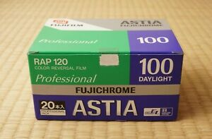 Expired (20 rolls) Fujichrome Astia 100 Color 120 Slide Film Fujifilm Fuji
