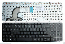 HP 250 G3 (G4U97UT) replacement black Qwerty UK notebook Keyboard with frame New