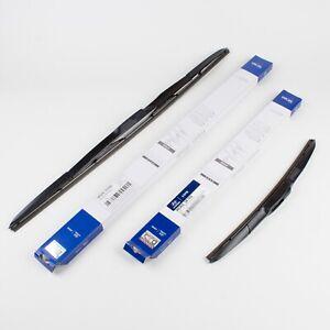 Hyundai OEM Windshield Wiper Blades LH RH 2011-16 Elantra Avante MD 98360-3X100+