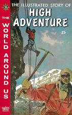 World Around Us #27 Vg High Adventure Crandall/Evans, Classics Illustrated 1960