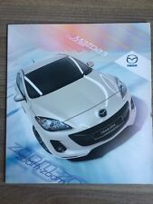 MAZDA 3 TAMURA LAUNCH EDITION 2011 CAR BROCHURE 5 DOOR HATCHBACK INC DIESEL
