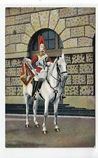TRUMPETER, 2nd LIFE GUARDS: Military postcard (C19535)